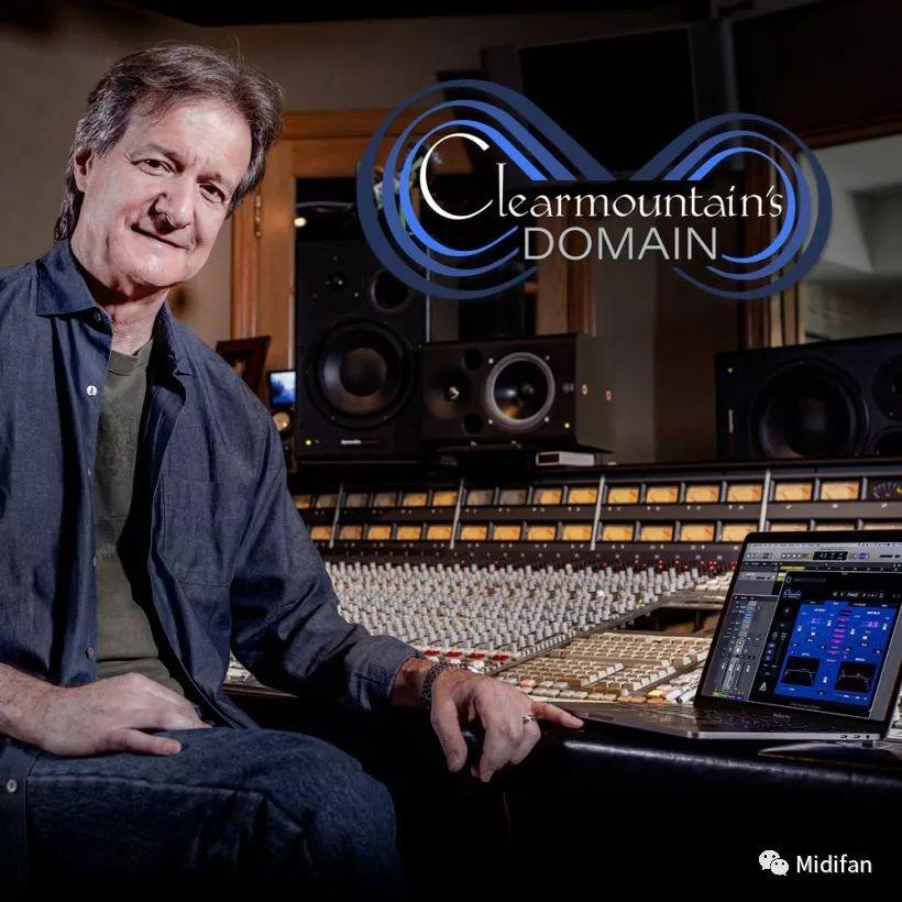 Apogee 将联手 Bob Clearmountain 发布革命性的混音插件