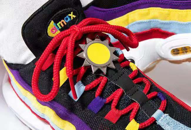 复古拼接 + 时尚撞色!Air Max 95 全新配色即将发售!