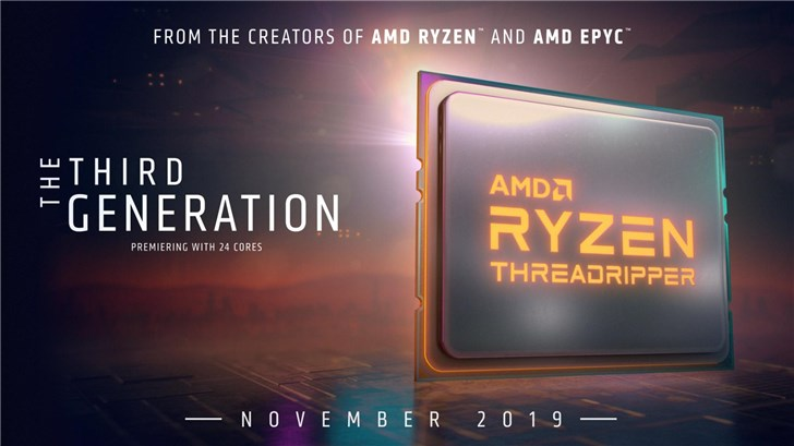 "AMD正式""官宣"":Ryzen93950X/线程撕裂者3000延至11月上市"