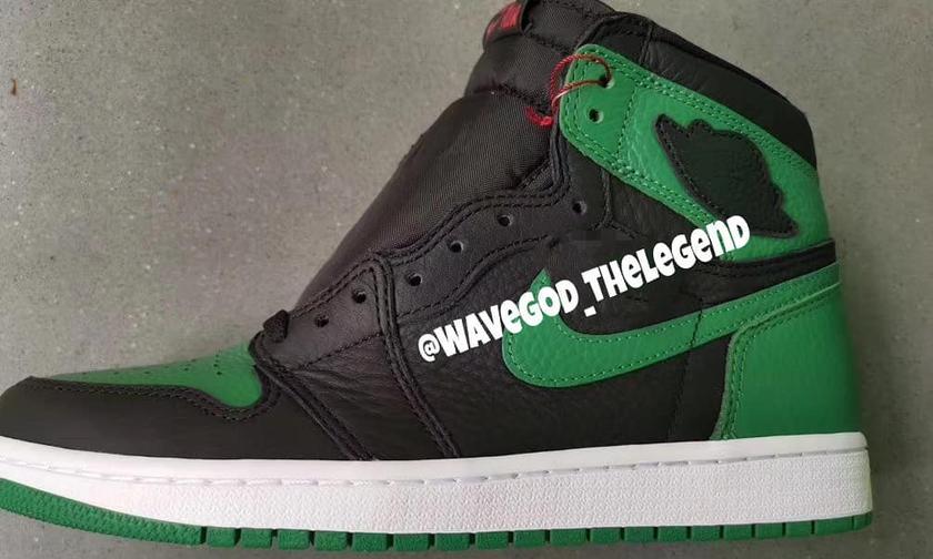 """准备好了吗!Air Jordan 1 """"Pine Green"""" 实物图首曝光!"""