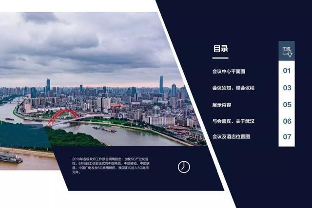 5G应用武汉峰会会议手册