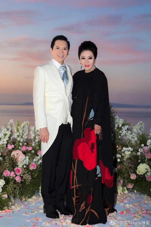 向太曬結婚39年紀念照,緊挨向華強超甜蜜,卻被調侃P成郭碧婷