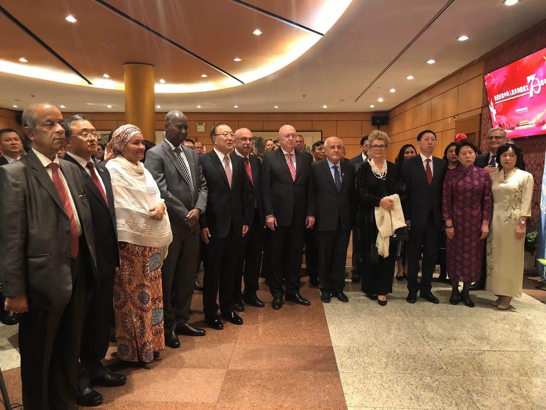 聯合國秘書長古特雷斯向中華人民共和國成立70周年致賀辭