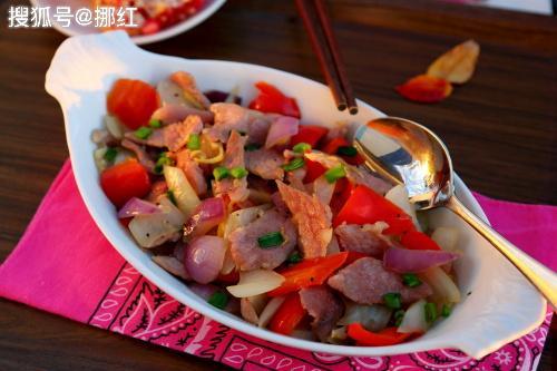 洋葱加它一起炒,下饭的农村菜,洋葱虽好,而它不易常吃