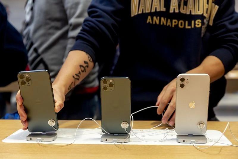 iPhone发售纽约旗舰店排长队 分析师:销量不错