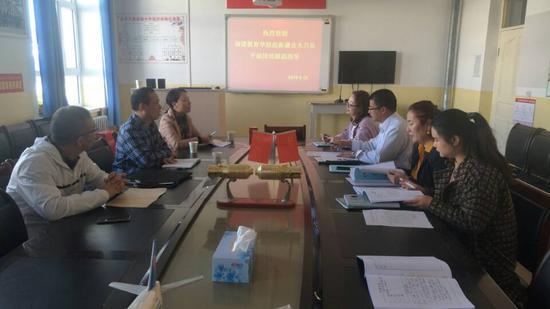 福建教育学院地理专家在吉木乃县开展国培跟踪指导活动