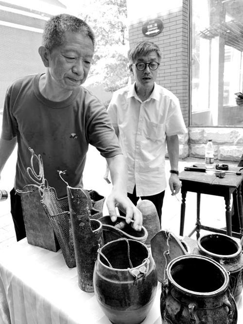 中国消失的一百个行当故事之二十三:筷子篓(笼、罐)上的绝对真理