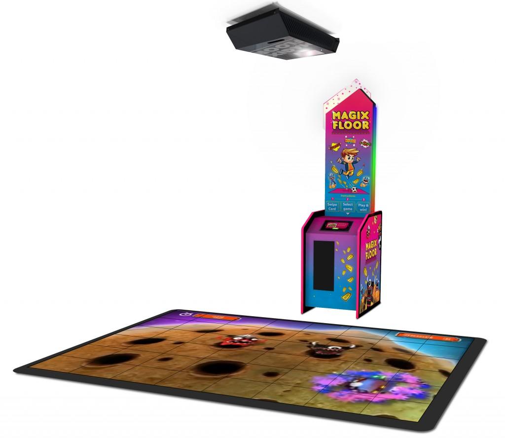 MotionMagix投影互动游戏