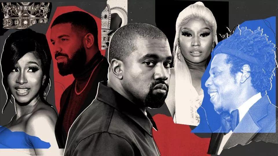 公告牌观察丨《福布斯》公开Hip-hop音乐人收入排名,KanyeWest占据头把交椅