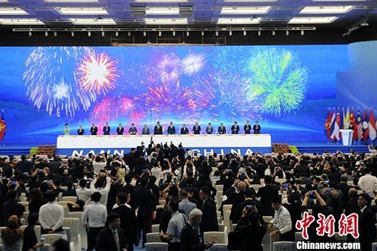 """直击东博会:中国—东盟""""拓印""""成果共绘2030合作愿景"""