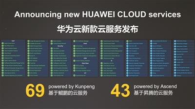 一口气发布上百款新服务华为云将给云市场带来什么?