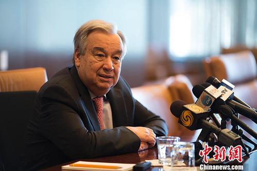 联合国秘书长就新中国成立70周年致贺辞