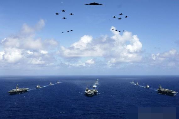 如果美国现役11艘航母全被击沉,军事实力会沦落到什么地步?