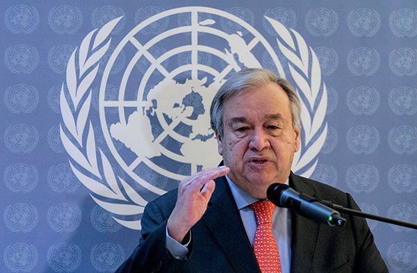联合国秘书长:2030可持续发展目标的实现进度落后于计划