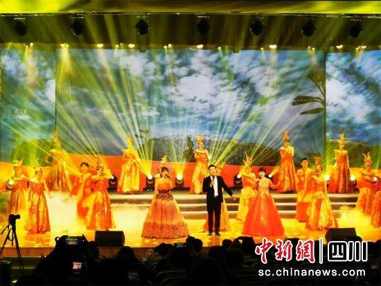 成都市温江区统一战线举行庆祝新中国成立70周年文艺汇演