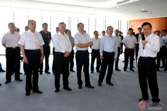 云南省党政代表团赴广东学习考察学习改革开放先进经验创新成果