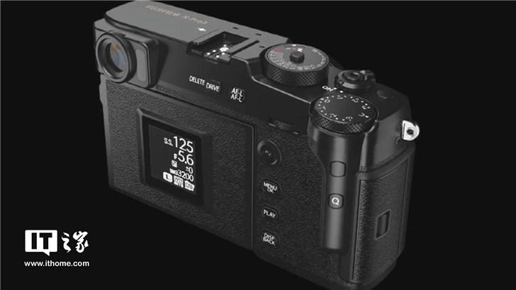 富士揭开X-Pro3相机面纱:混合EVF,复古设计亮眼