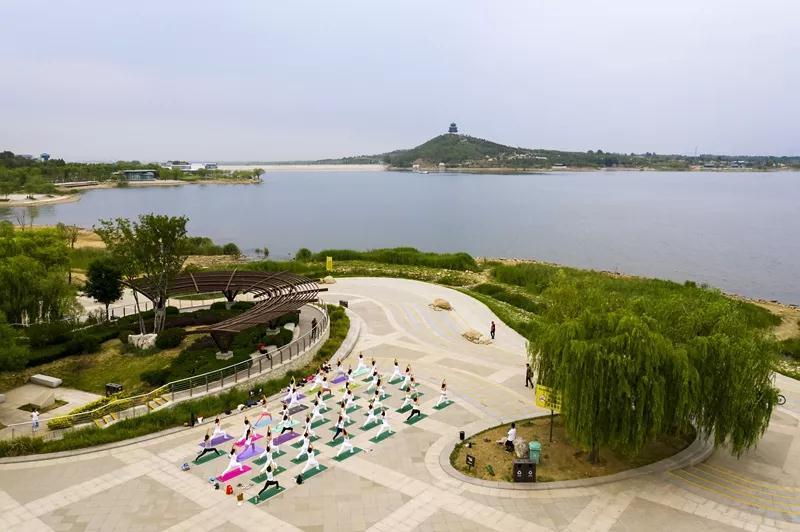 2019淄博文昌湖第二届环湖半程马拉松赛即将鸣枪开跑