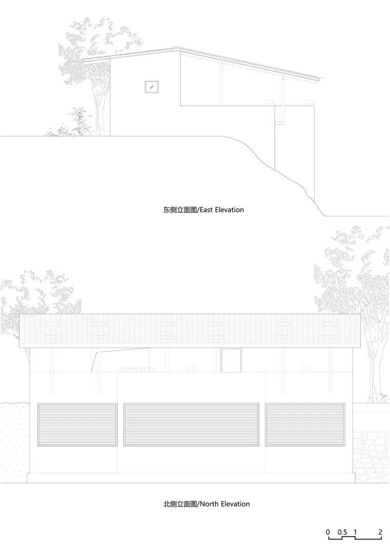 100平米咖啡厅cad图纸