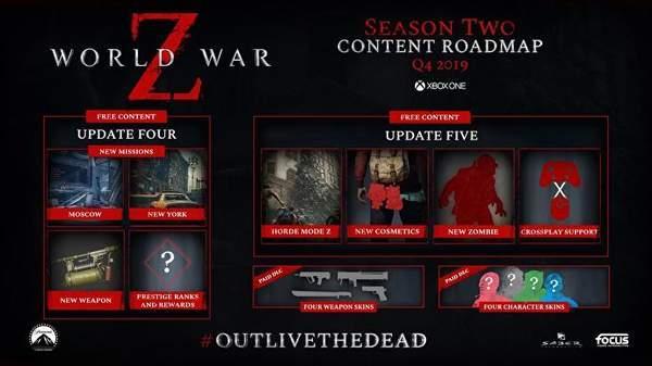 《僵尸世界大战》第二季更新内容将加入僵尸部落模式