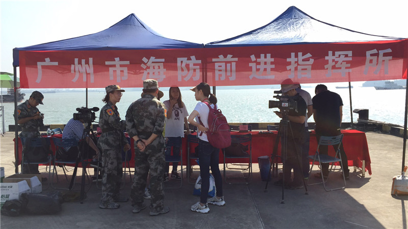 你听到防空警报了吗?广州72个单位防空演习,首次增加海防管控