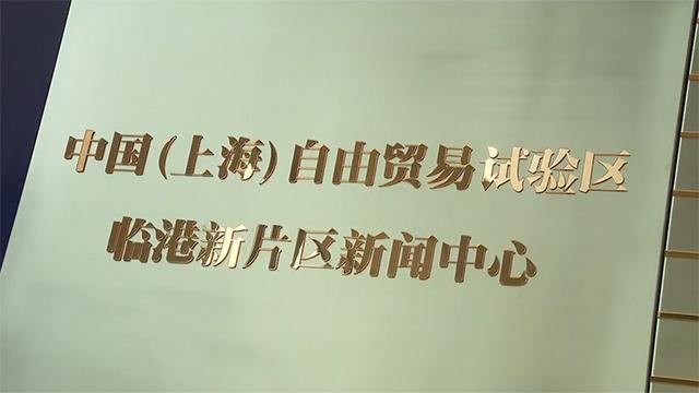上海自贸区临港新片区新闻中心暨上海主要媒体临港新片区记者站成立
