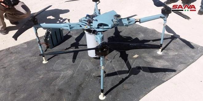 叙利亚军方称在叙西南部击落一架无人机