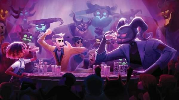 《狼奔豕突》开发商新作10月发售靠喝酒逃离地狱?