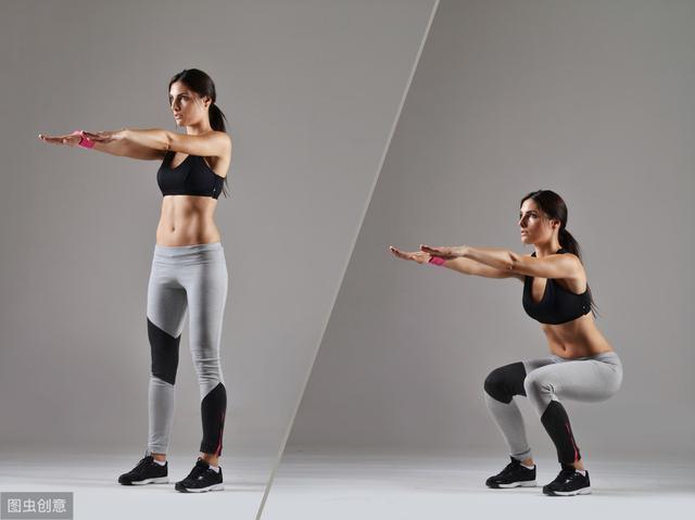 深蹲——健身王牌动作!关于深蹲的几个谣言,你信了几个?