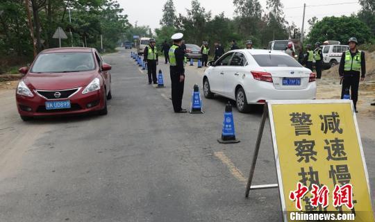 广东茂名300警力布点乡镇扫除农村治安乱象