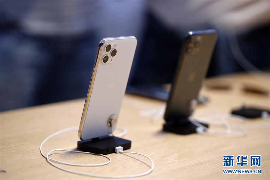 新一代苹果手机在美国上市销售