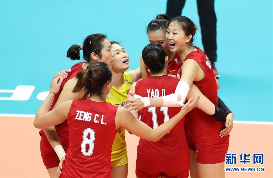 """""""双核""""驱动中国女排逆转巴西取世界杯六连胜"""