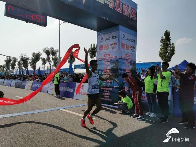8000名选手参与 2019第二届淄博环文昌湖半程马拉松鸣枪开跑