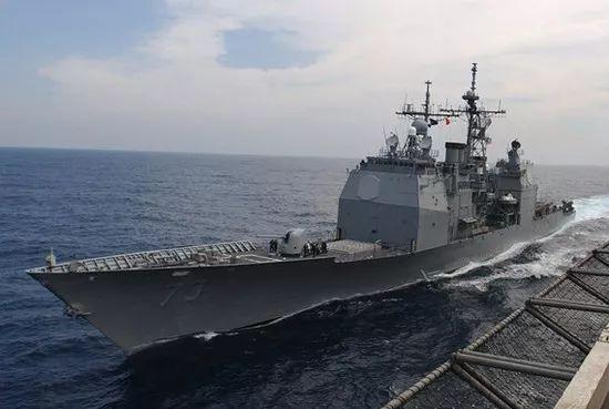 """软件赚钱""""老头儿""""巡洋舰,又来穿越台湾海峡了,老人家就应该在家待着"""