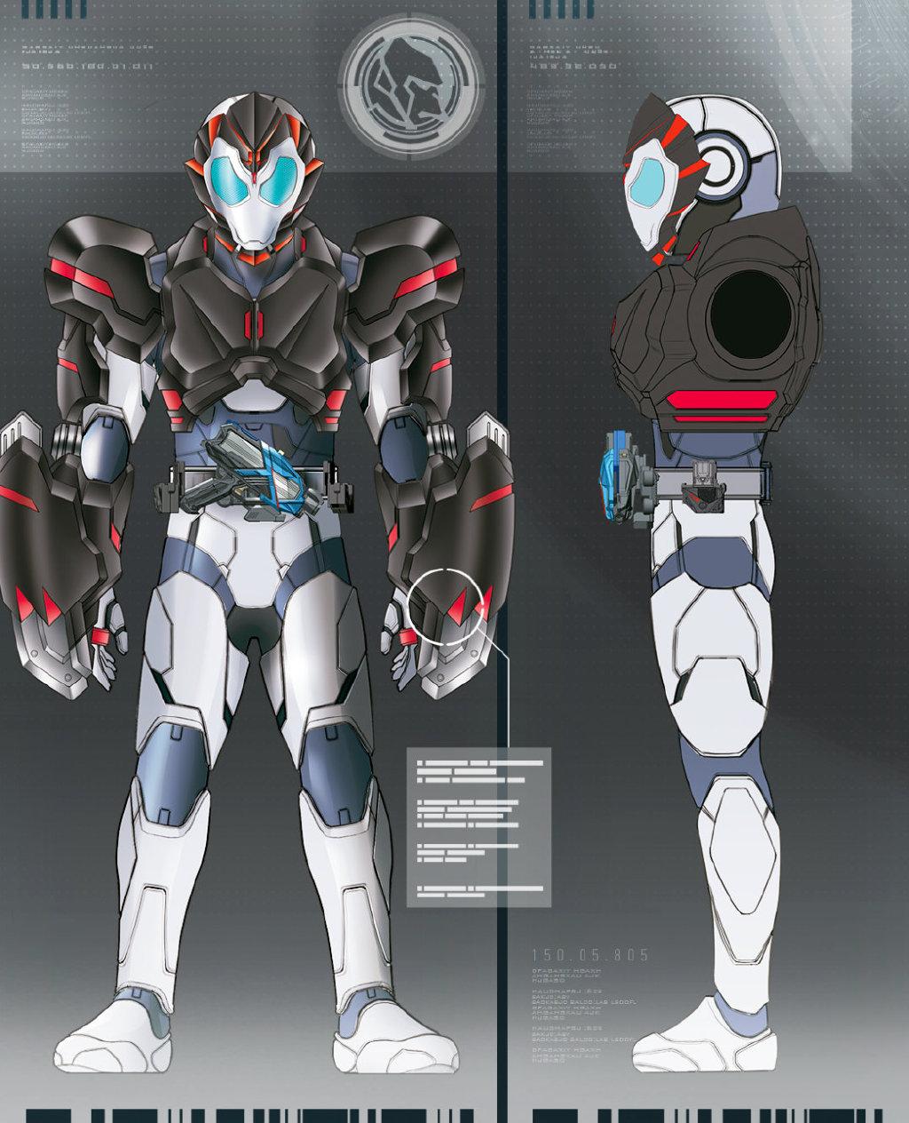 假面骑士01 零一驾驭金刚,飞电金刚形态曝光,外形酷炫像蝙蝠侠