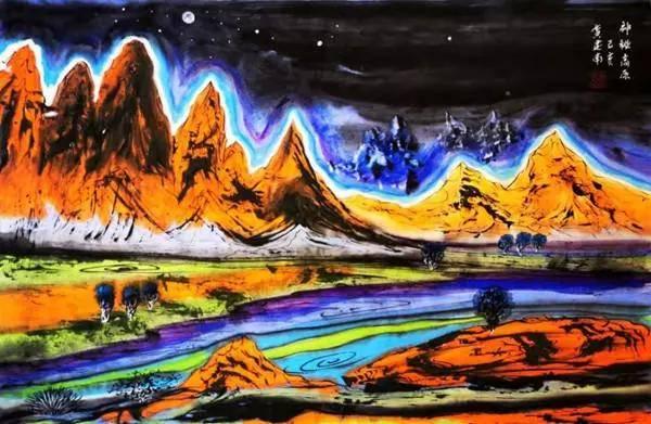 书法国画油画艺术家黄建南——锐意进取 大胆创新