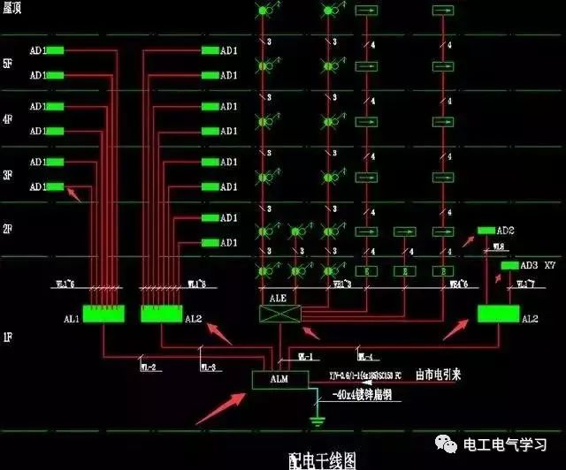 电工如何学习电路图的各种代号,零基础教你学识图~