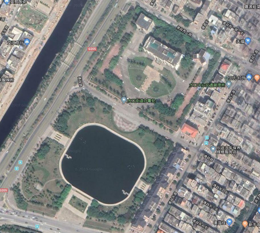 水口有两大之称、面积也是相当于这几个片区的8倍!