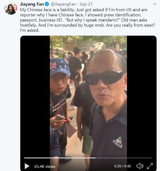 真是打脸:美媒华裔记者也被暴徒围了