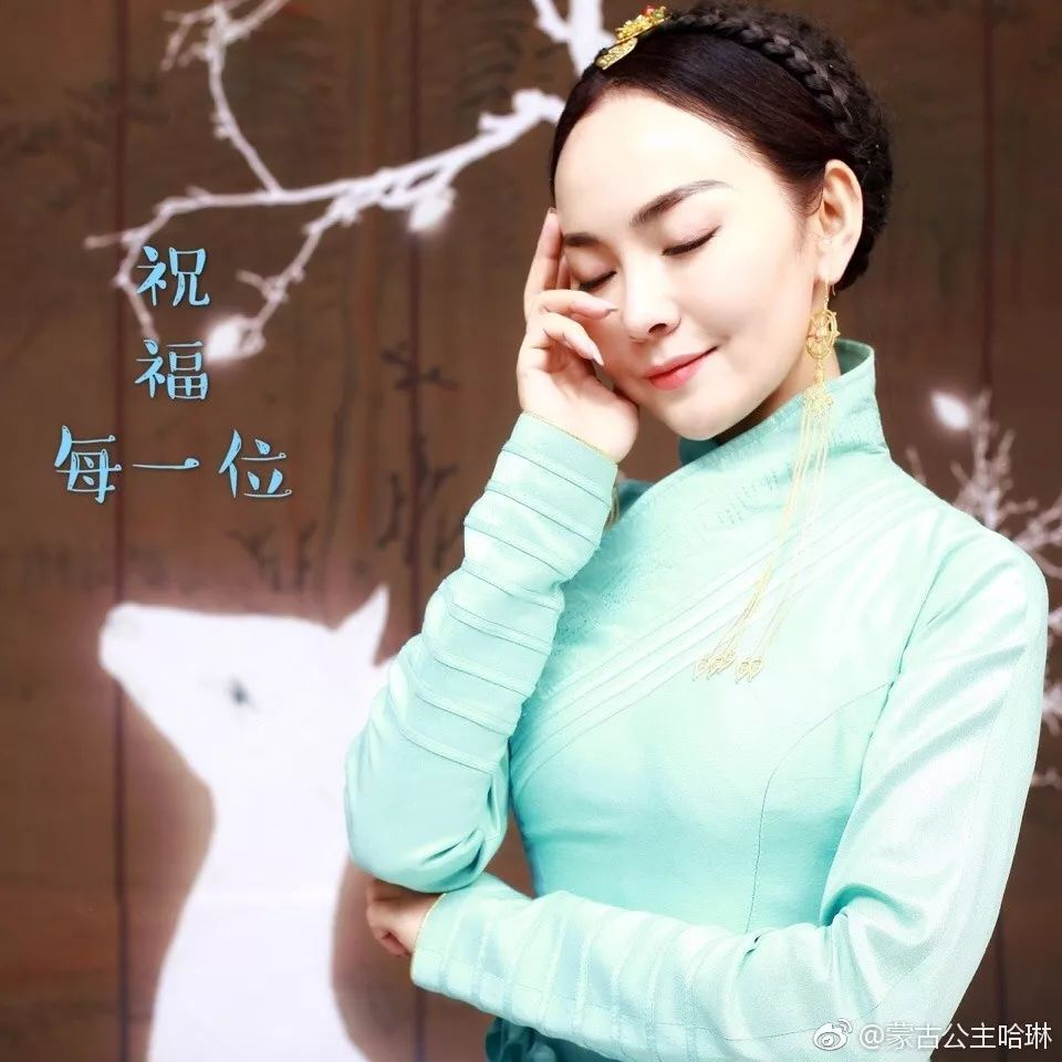 她是蒙古公主却放下身份北漂,如今与帅气老公甜美生活~