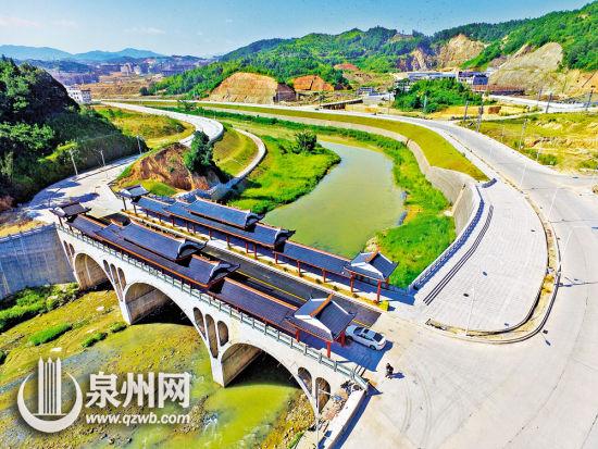 泉州:新桥古韵 龙门桥横跨浐溪两岸