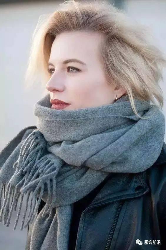 一条上等的羊绒围巾,比2件毛衣还要暖和?