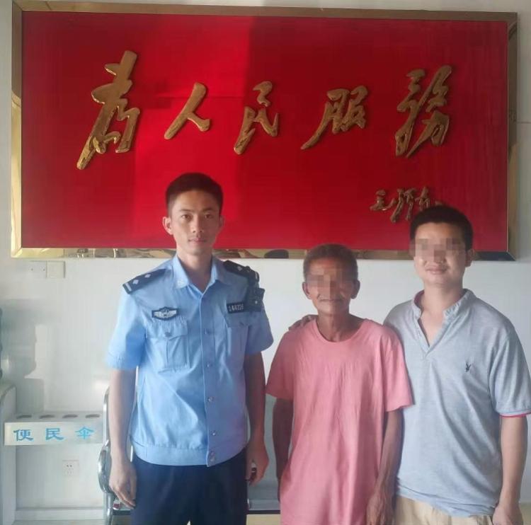 老人走在沈海高速想回贵州老家,已走失3个多月,幸遇深汕警方