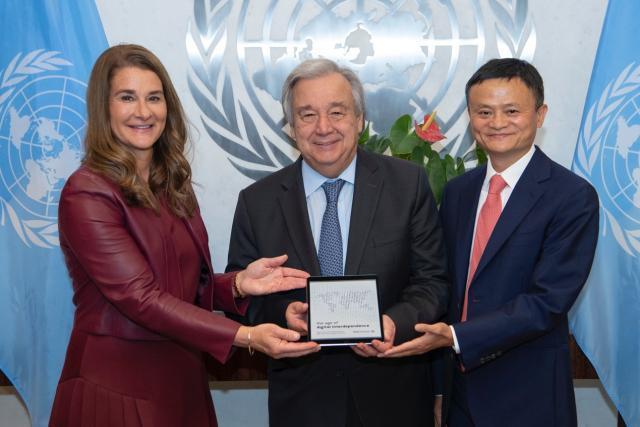 联合国都给支付宝颁奖了!马云获史无前例荣誉,他保卫了地球