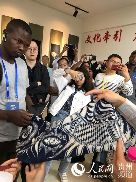 """""""一带一路""""新闻合作联盟短期访学班走进贵州"""