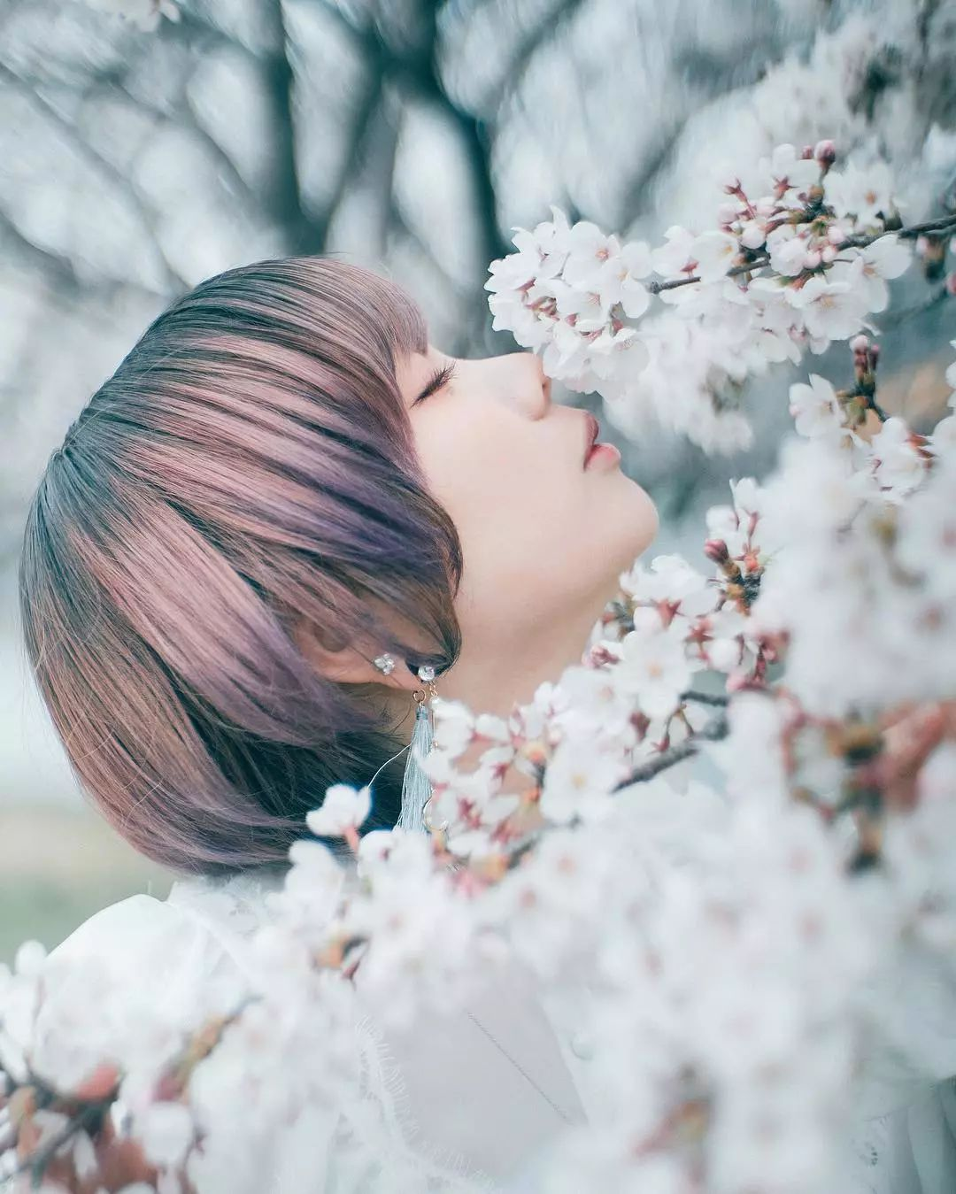 他拍摄的清新日系美女,看一看就让人心情舒畅!