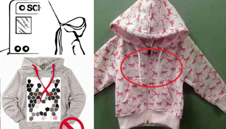 孩子7岁前,家长最好别给买这种衣服,很容易发生危险