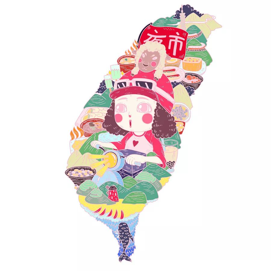 Teatea,台湾,美食,识别,生活,世界,侵权,食欲,版权,测评盘点,台湾,Teatea,走秀秀,手帐,美食