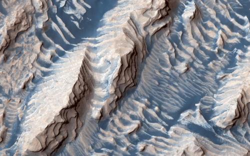 """你从没看过的火星!就像""""奶油曲奇饼""""(图)"""