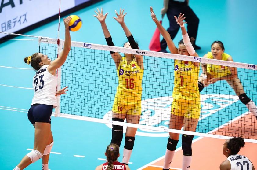 美国女排第2或都不保!中国女排赛程分析:击败